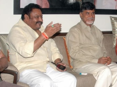 Harikrishna and Chandrababu Naidu